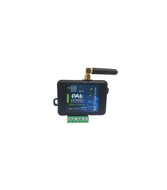 SG303GB Controlador GSM 3G 2 Relés